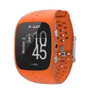 Hodinky Polar M430 oranžová