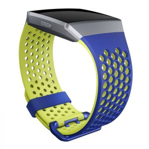 Hodinky Fitbit Ionic Cobalt/Lime L