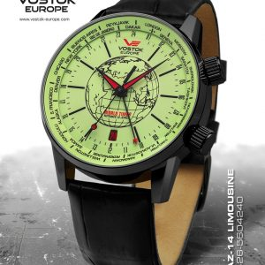 Vostok Europe Gaz-14 Limouzine World Timer