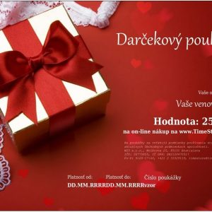 Darčekový poukaz 250 €