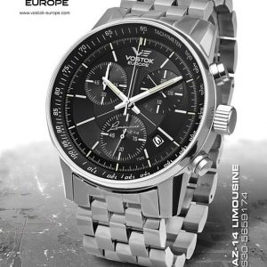 Vostok Europe GAZ-14 Grand Chrono Trigolight